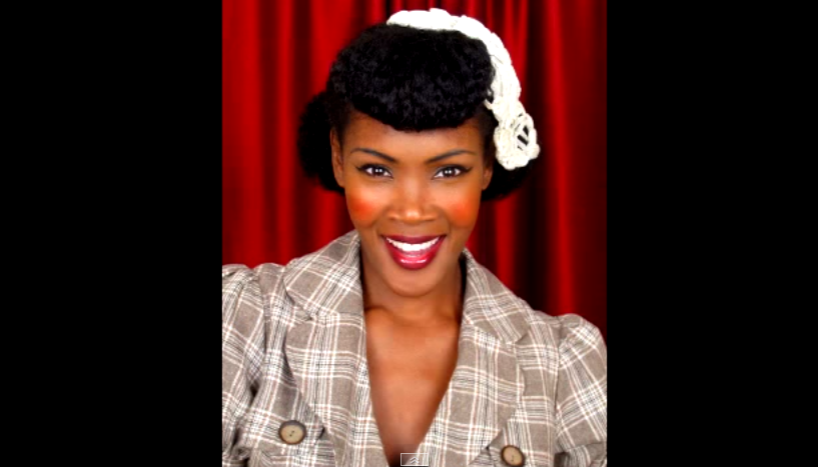 Chilli S Fave Vintage Pinup Hairstyles For Natural Hair